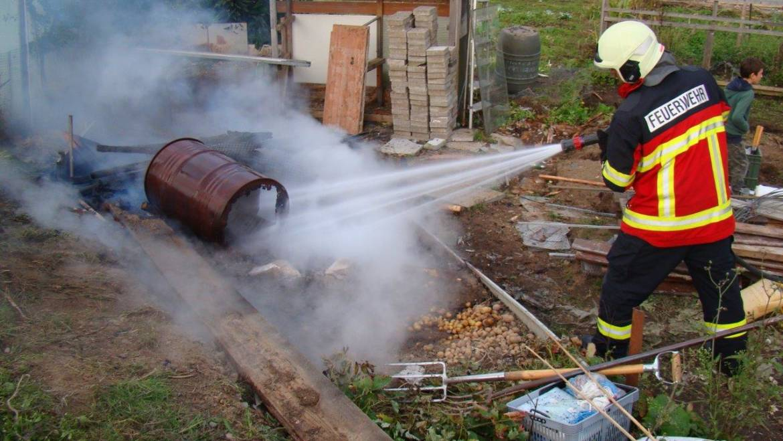 Brand, Schrebergärten Soor Bütschwil